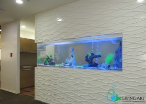 """Acrylic Tank for Corporate office in DLF Porur, Chennai"""